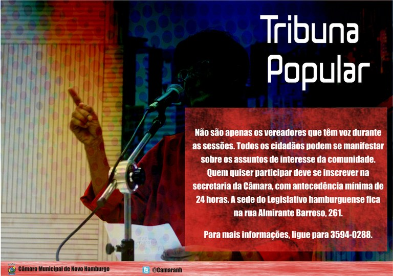 Card - Tribuna Popular