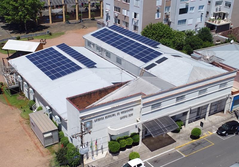 Usina de Geração de Energia Fotovoltaica da Câmara de Campo Bom
