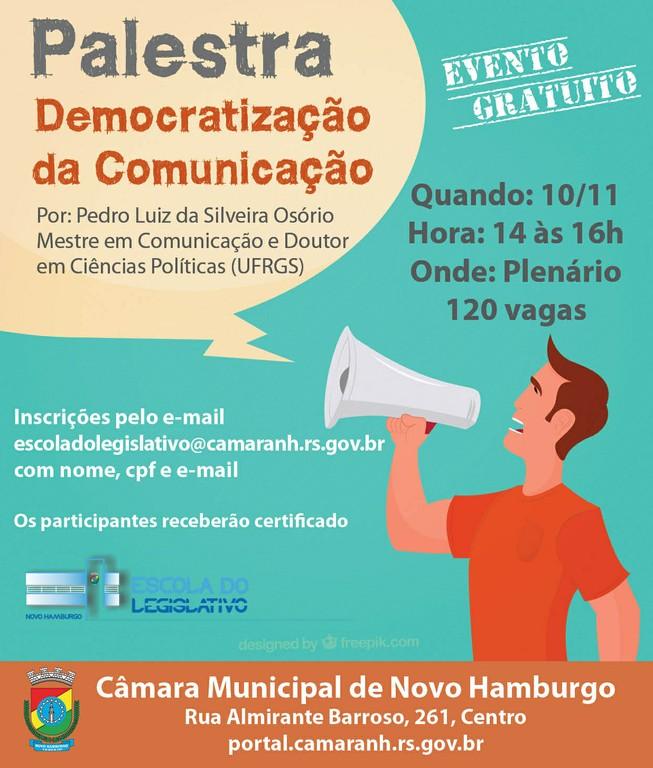 Palestra Democratização da Comunicação 2016