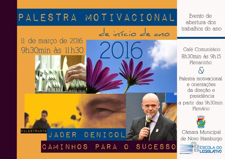 Palestra Motivacional 2016