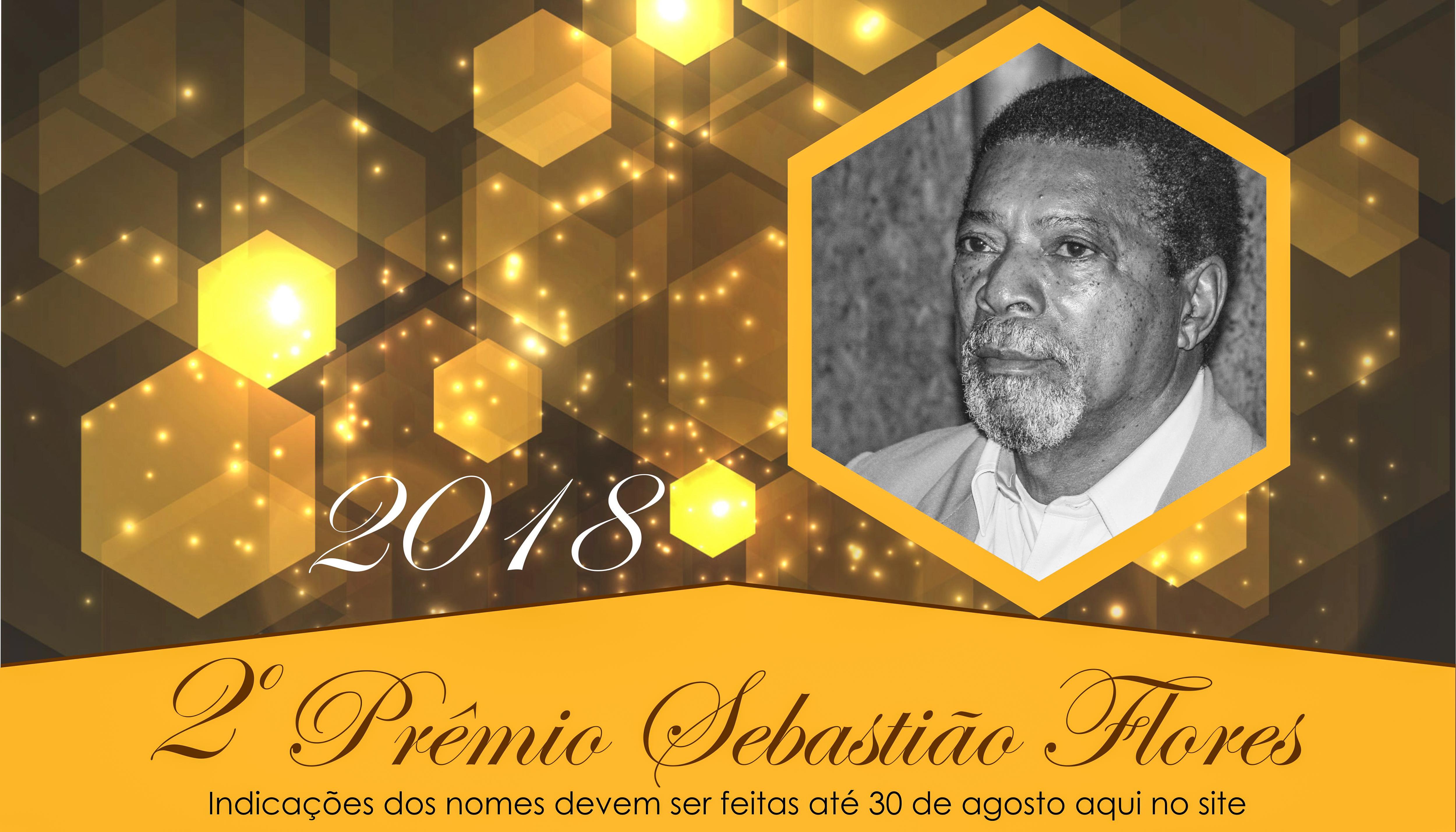 Aberto período de indicações para o 2º Prêmio Sebastião Flores