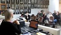 Alunos do Projeto Vereador Mirim participam de oficina para elaboração de proposições