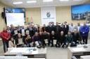 Câmara homenageia Clube G40, campeão da Copa AFIA Portugal