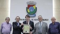 Câmara homenageia o cinquentenário do Rotary Club Novo Hamburgo 25 de Julho