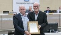 Câmara homenageia os 20 anos da empresa SMS Metais