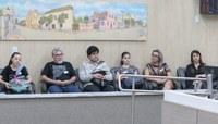 Câmara protocola proposições elaboradas pelos vereadores mirins