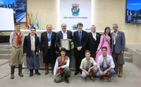 Câmara realiza sessão solene para homenagear o CTG Terra Nativa