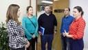 Câmara recebe visita de vereadores de Sapiranga