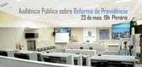 Câmara sedia audiência pública da Assembleia sobre previdência social