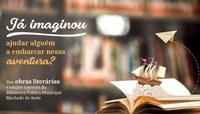 Campanha para ampliar acervo de literatura da Biblioteca Municipal será lançada nesta quarta