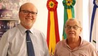 Chefes do Legislativo de NH e SL debatem criação do Fórum Permanente das Câmaras do Vale dos Sinos