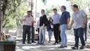 Comissão especial realiza primeira vistoria em obras do Centro