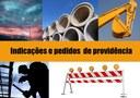 Enio Brizola solicita substituição de poste de telefonia na rua Charqueadas