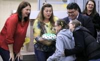 Escola Elvira Brandi recebe homenagem pelos seus 45 anos