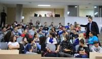 Escola João Goulart é a primeira a participar do Projeto Vereador Mirim