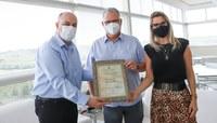 Jornal NH recebe homenagem por seus 60 anos de fundação