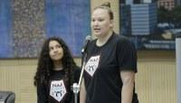 Judoca apresenta trabalho comunitário desenvolvido por sua academia