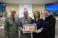 Legislativo recebe solenidade de troca do Comando Regional da Brigada