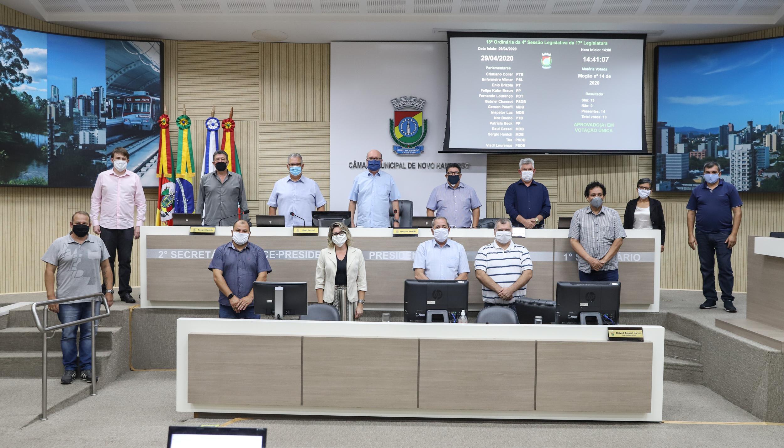 Moção critica recurso contra bloqueio do fundo eleitoral para ações de combate à Covid-19