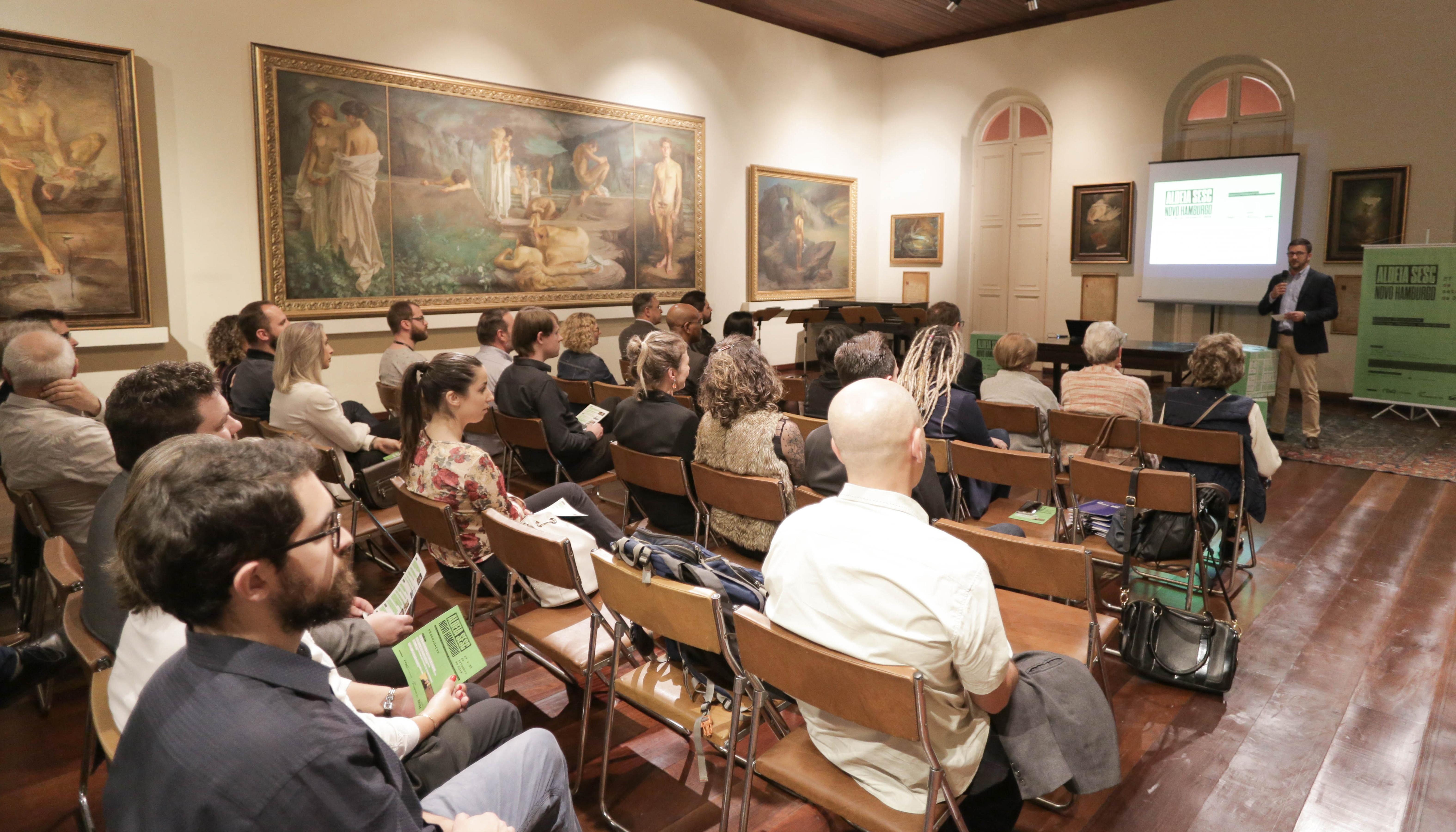 Música, teatro e exposições acontecem na 1ª edição do Aldeia Sesc Novo Hamburgo