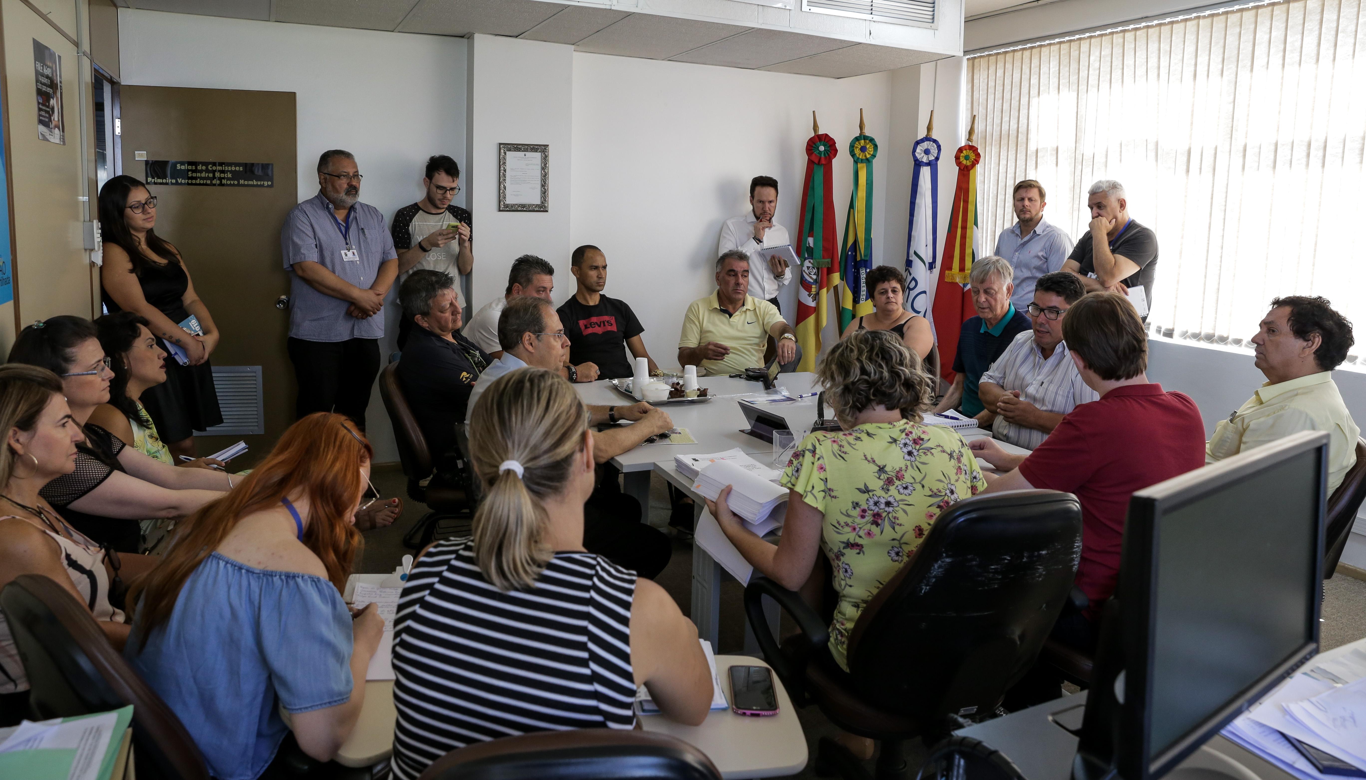 Obras no Centro: reunião define ato de protesto e nova fiscalização dos parlamentares