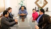 Oficina Interlegis é pauta de encontro entre senador Paim e Mesa Diretora da Câmara