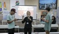 Palestra com alunos da EMEF Monteiro Lobato dá início à terceira edição do Vereador Mirim