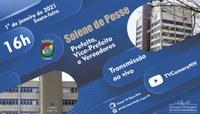 Prefeita, vice-prefeito e vereadores serão empossados no dia 1º de janeiro