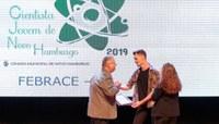 Prêmio Cientista Jovem da Câmara contempla estudantes hamburguenses na Mostratec 2019