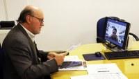 Presidente da Câmara realiza audiência virtual com o MPE/RS sobre proteção e urbanização junto ao arroio Luiz Rau