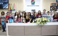 Projeto Vereador Mirim deve contemplar 700 alunos da rede municipal