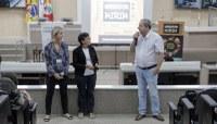 Projeto Vereador Mirim recebe alunos da escola Eugênio Nelson Ritzel