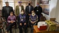 Público interno da Câmara recebe vacina contra a gripe