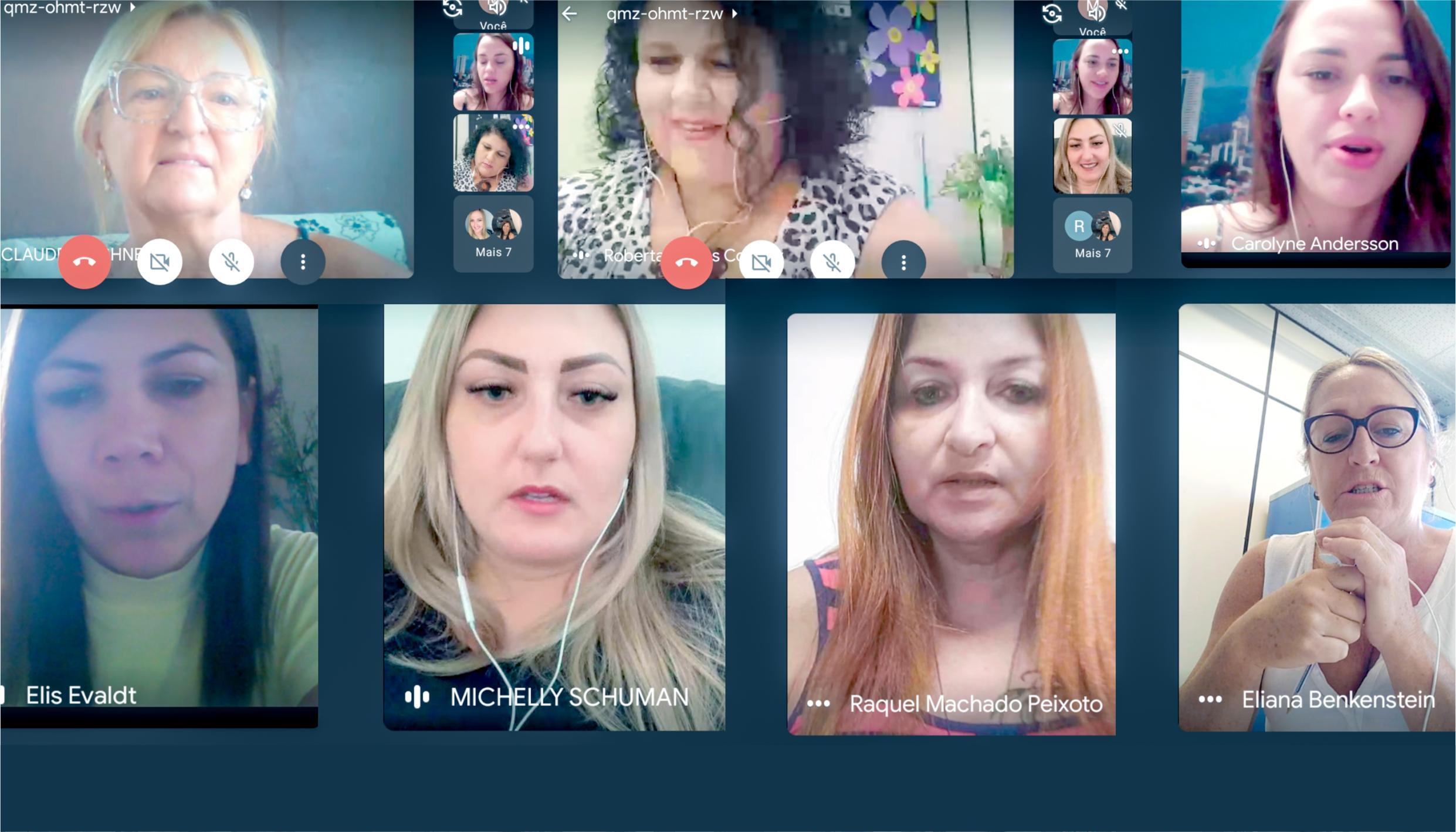 Rede Lilás se reúne para montar programação do Mês da Mulher