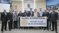 Rotary Club Monumento é homenageado pelos 50 anos de atuação