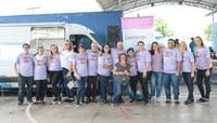 Segunda edição do evento Domingo por Elas conscientiza comunidade do bairro Santo Afonso