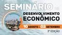Seminário de Desenvolvimento Econômico debate inovação em tempos de pandemia