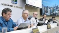Sessão plenária de quarta-feira foi suspensa devido a falta de energia elétrica
