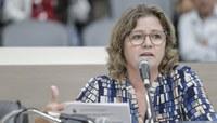 Suplente Márcia Glaser substitui Inspetor Luz durante a sessão desta segunda