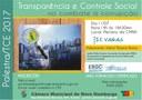 Transparência e controle social é tema de palestra promovida pela Escola do Legislativo