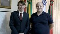 Vereador de Igrejinha divulga Fórum de Debates para o presidente da Casa