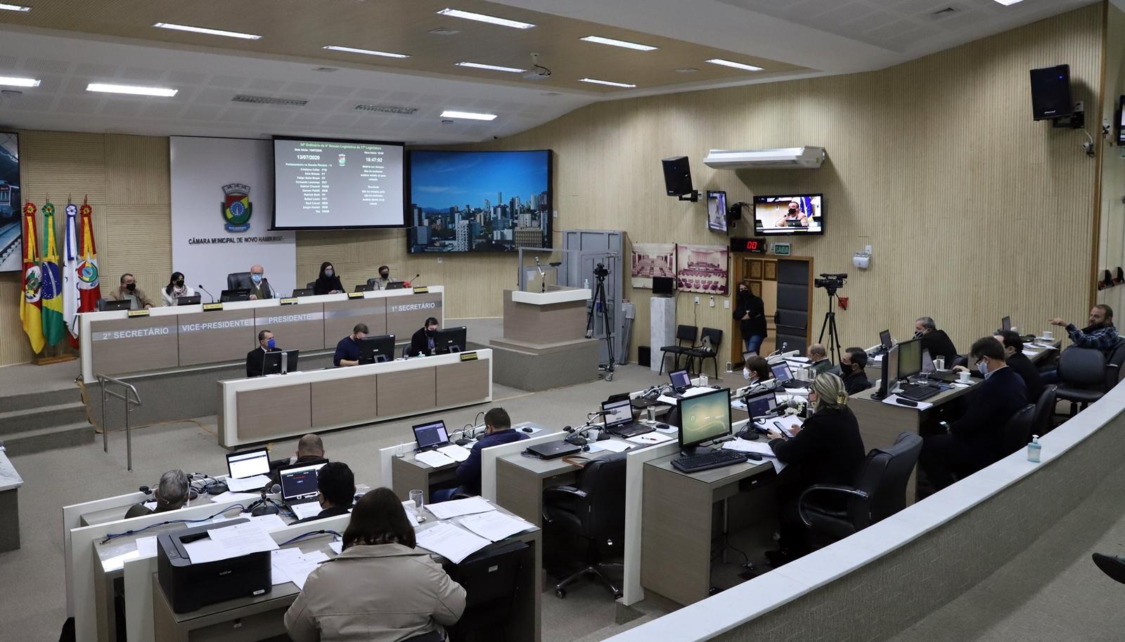 Vereadores aprovam crédito extraordinário de R$ 14 milhões para investimentos em saúde e assistência social durante a pandemia