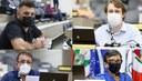 Vereadores enaltecem trabalho de profissionais no drive-thru de vacinação na Fenac