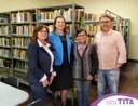 02/09/2019 - Tita participa da reabertura da Biblioteca Pública Municipal Machado de Assis
