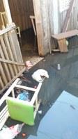03/01/2019 - Pedido de desobstrução de esgoto é a primeira demanda recebida pelo vereador Nor Boeno em 2019