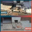 03/02/2020 - Gabinete do vereador Nor Boeno tem pedido relacionado a saneamento básico atendido