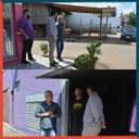 03/04/2019 - Vereador Nor Boeno repassa demandas do bairro Canudos ao secretário de Obras do Município