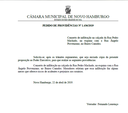 03/05/2019 - Fernando Lourenço solicita conserto de infiltração na rua Pedro Machado em Canudos