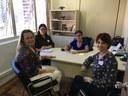03/05/2019 - Tita recebe representantes da Comissão da Mulher da OAB e do Conselho Municipal dos Direitos da Mulher