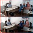 03/12/2019 - Vereador Nor Boeno recebe moradores dos bairros Vila Nova e Canudos em seu gabinete